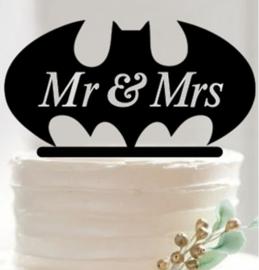 Acryl topper Mr&Mrs