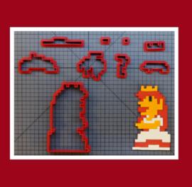 3-D uitsteker  (  10 cm)