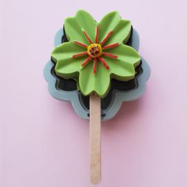 Cake/ijs mold bloem