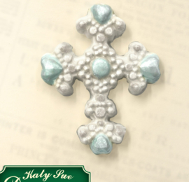 Beaded Cross ( Katy Sue)
