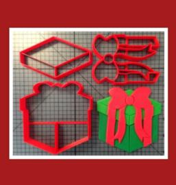 3-D uitsteker cadeau (5 / 7,5 en 10 cm)