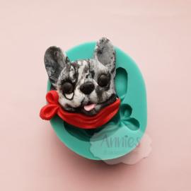3D honden kop