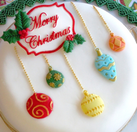 Christmas baubles (katy Sue)