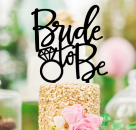 Acryl topper Bride to be