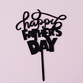 Acryl topper Happy fathers day