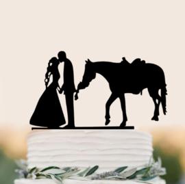 Acryl topper bruidspaar
