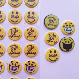 Transfer sheet mold emoticons ( Arabisch)
