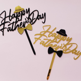 Acryl topper Happy father's Day