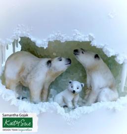 Polar Bear Family ( Katy Sue)