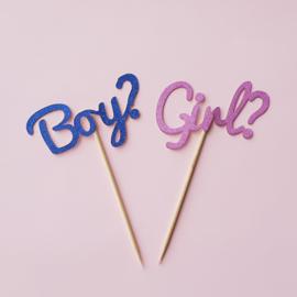 Boy? / Girl? setje