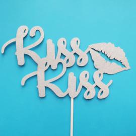 Kiss Kiss topper (papier/karton)