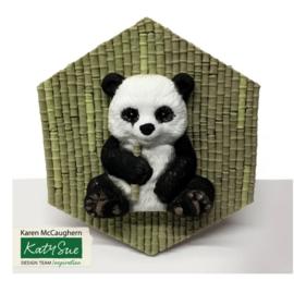 Panda mold ( Katy Sue)