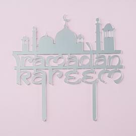 Acryl topper Ramadan Kareem ( groot)