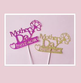 Topper Mothers day best mom
