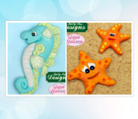 Starfish and Seahorse ( Katy Sue)