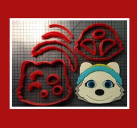 3-D uitsteker  ( 5 en 10 cm)