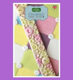 Button hearts border (katy Sue)