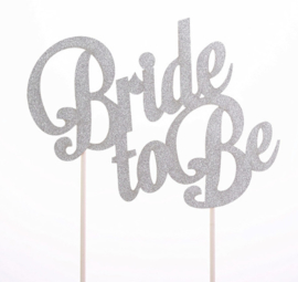 Topper Bride to Be (papier/karton)