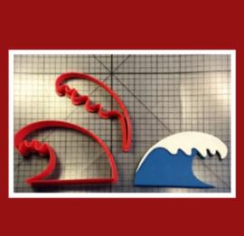 3D  uitsteker  golven( 5 en 7,5 cm)