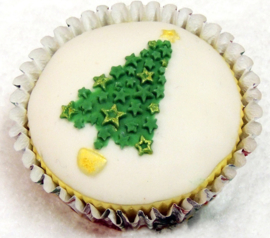 Christmas tree cupcake mold ( Katy Sue)