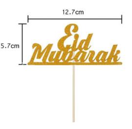 Eid Mubarak topper (papier/karton)