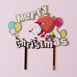 Acryl topper Merry Christmas