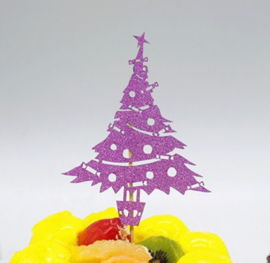 Kerstboom topper  (papier/karton)