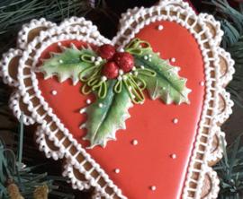 Holly & Mistletoe mold (Katy Sue)