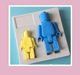 Lego poppetjes mold