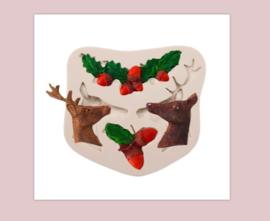 Kerst/hert mold