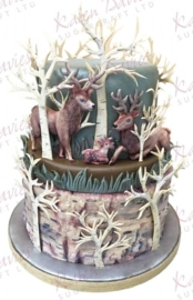 Rustic stag by alice ( Karen Davies)