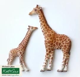 Giraffe Mother and Baby ( Katy Sue)