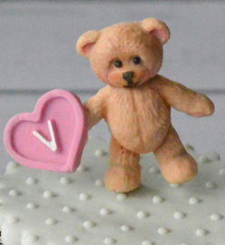 Baby teddy bear mold (Katy Sue)