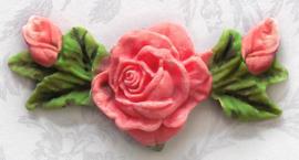Rose,bud & Leaf (Katy Sue)