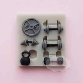 Fitness mold ( klein)