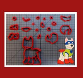 3-D uitsteker  ( 7,5 / 10 en 12,5 cm)