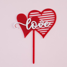 Acryl topper Love