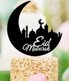 Acryl topper Eid mubarak