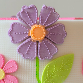 Stitched flowers Pretty Petals ( Katy Sue)