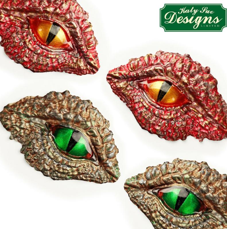 Dragon eyes mold ( Katy Sue)