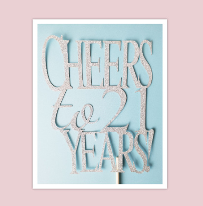 Topper Cheers to 21 years