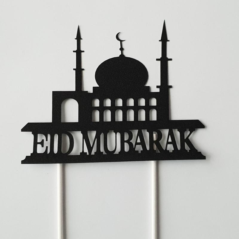 Eid Mubarak topper  ( papier/karton)