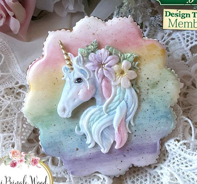 Mini unicorn mold ( Katy sue)
