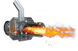 Blaze Hybrid biomass combi