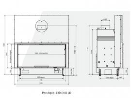 Pec Aqua 130 EVO LD met liftdeur (demo-model)