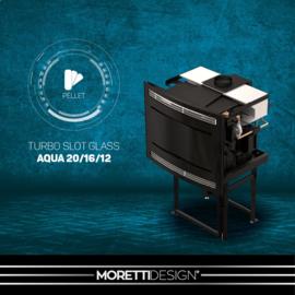 Moretti Slot Glass 12 t/m 20 kW CV-pelletkachel
