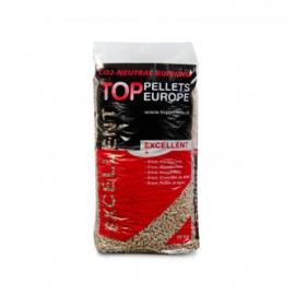TOP PELLETS EXCELLEN 10 KG ZAK ENplus-A1 kwaliteit