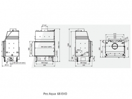 Pec Aqua 68 EVO CV-houthaard