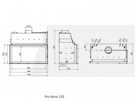 Pec Aqua 110   30 Kw CV-houthaard
