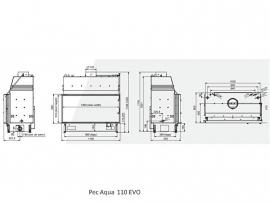 Pec Aqua 110 EVO CV-houthaard